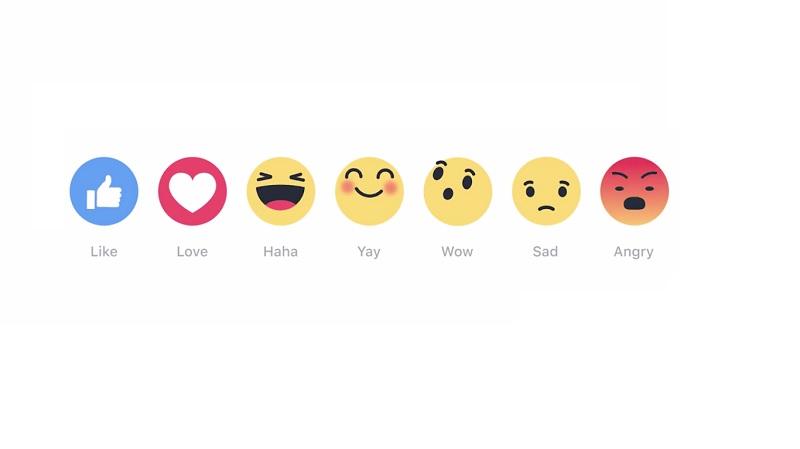 """Zuckerberg lancia le Reactions, i nuovi """"like"""" di Facebook"""
