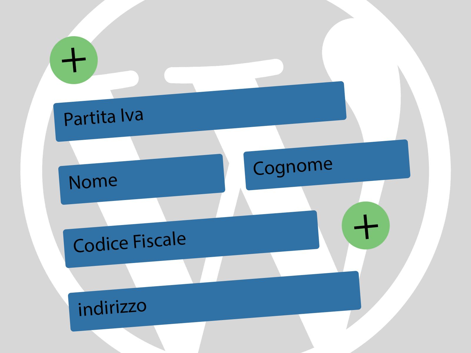 Aggiungere P.Iva e Codice Fiscale a Woocommerce di WordPress